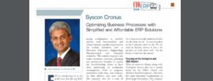 CIO Review on Syscon